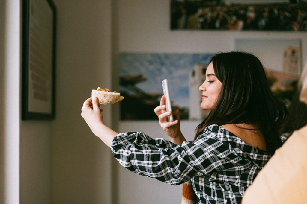 Social media app marketing can be used for more than selling pizza