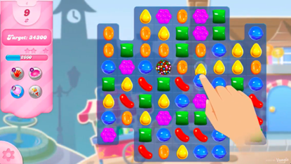 Candy Crush is the number one Tile game