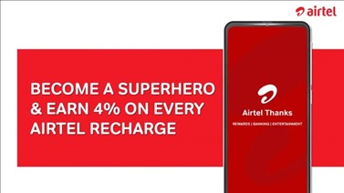 SuperHero - Airtel Thanks App for recharge